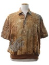 Mens Print Resort Wear Shirt