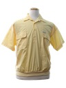 Mens Totally 80s Members Only Golf Shirt