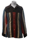 Mens or Boys Flannel Disco Shirt