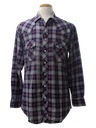 Mens Wicked 90s Western Style Grunge Flannel Shirt