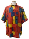 Mens Print Club/Rave Shirt