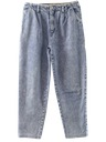 Womens Totally 80s Stone Wash Jeans Pants