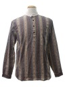 Mens Reproduction 1800s Pioneer Style Western Shirt