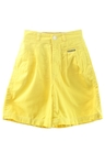 Womens Totally 80s Casual Shorts