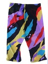 Womens Spandex Capri Pants