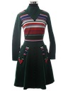 Womens Mod Knit Dress