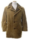 Mens Corduroy Car Coat Jacket