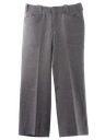 Mens Flared Western Style Leisure Pants