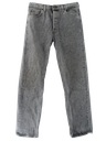 Mens Wicked 90s Stone Washed Jeans Pants
