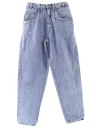 Womens Designer Totally 80s Stone Washed Jeans Pants