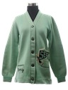 Womens Lettermans Cardigan Sweater