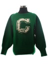 Womens Lettermans Sweater