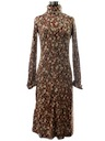 Womens Designer Disco Dress