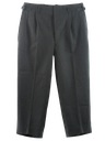 Mens Wool Gabardine Slacks Pants