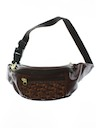 Unisex Accessories - Wicked 90s Leather Look Hippie Style Fanny Pack
