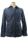 Mens Denim Zip Jacket