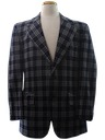 Mens Mod Sport Coat Jacket