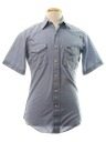 Mens Western Chambray Work Shirt