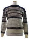 Mens Totally 80s Ski Style Sweater