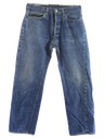 Mens Levis 501 Red Line Selvedge Jeans Pants