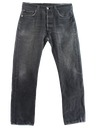 Mens Levis 501 Grunge Jeans Pants