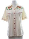 Womens Western Hippie Shirt