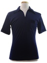 Mens Solid Resort Wear Style Disco Shirt