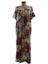 Womens Muu-Muu Hawaiian Dress