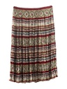 Womens Hippie Style Broomstick Skirt