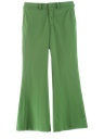 Mens Bellbottom Disco Style Leisure Pants
