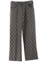 Mens Flared Mod Disco Style Leisure Pants
