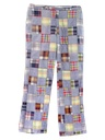 Mens Totally 80s Flared Golf Pants