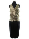 Womens Totally 80s Semi-Formal Cocktail Dress