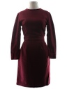 Womens Fab Fifties Wool Dress