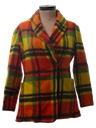Womens Mod Wool Blazer Style Jacket
