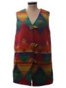 Womens Western Style Hippie Vest