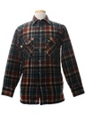 Mens Wool Flannel Shirt Jacket