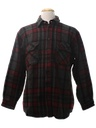 Mens Flannel Wool Shirt