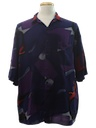 Mens totally 80s Resort Wear Shirt
