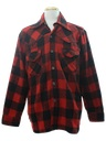 Mens Western Inspired Flannel Shirt