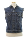 Mens Grunge Denim Vest