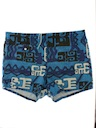 Mens Mod Hawaiian Swim Shorts
