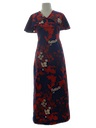 Womens Mod Maxi Dress