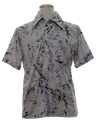 Mens Resort Style Print Disco Shirt