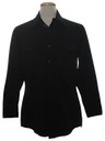 Mens CPO Style Knit Shirt Jacket