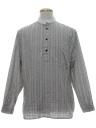 Mens Pioneer 1800s Style Western Shirt
