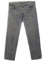 Mens Levis Totally 80s Acid Washed Jeans Pants