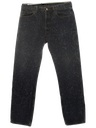 Mens Totally 80s Acid Washed Levis Jeans Pants