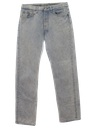 Mens Levis 501s Totally 80s Acid Washed Jeans Pants