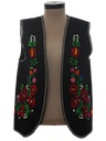 Unisex Embroidered Mod Hippie Vest